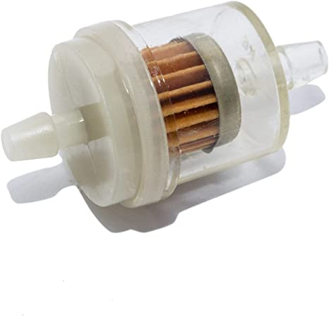 10x Benzinfilter Sprit Kraftstofffilter 6-8mm für Auto PKW Motorrad Roller Mofa
