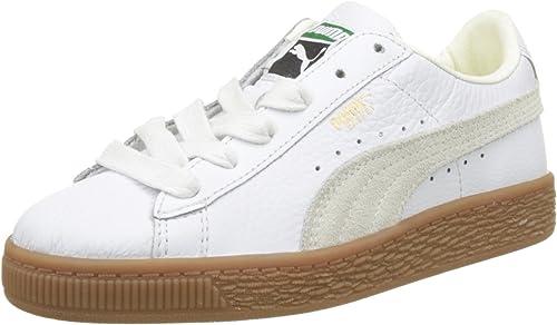 basket blanche puma enfant