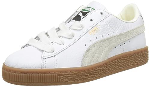 Puma Basket Classic Gum Deluxe PS, Zapatillas Unisex Niños: Amazon.es: Zapatos y complementos
