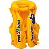 Intex 58660EU - Deluxe Pool School Swim Vest Buoyancy Jacket (3-6 years)