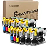 S SMARTOMNI Compatible LC 203 Ink Cartridge Replacement for Brother LC203 XL for Brother MFC J480DW J460DW J485DW J880DW J885DW J680DW J4620DW J4420DW J5620DW J4320DW J5520DW J5720DW (4 Black +2 Set)