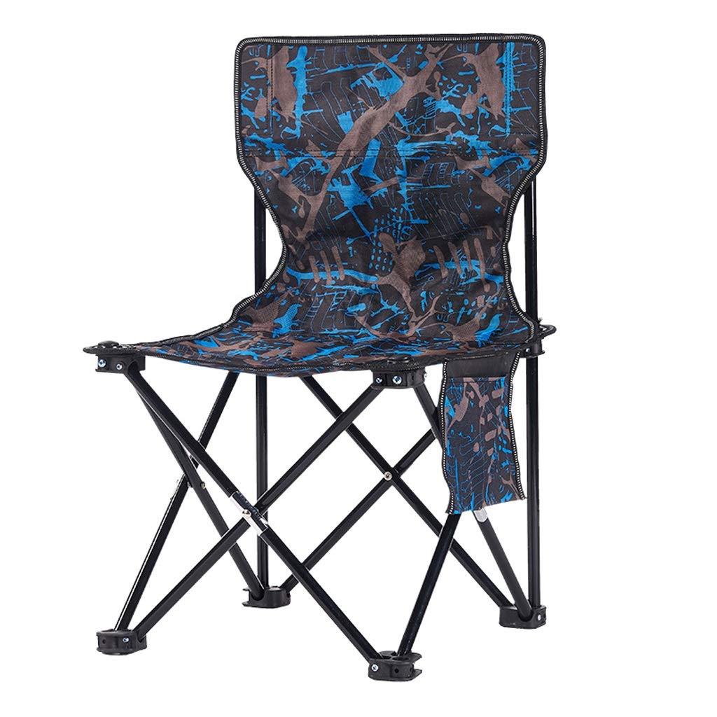 CATRP Marke Im Freien Camping Falten Stühle Ultraleicht Tragbar Malerei Hocker Fischen Strand Festival Seat, 6 Farben