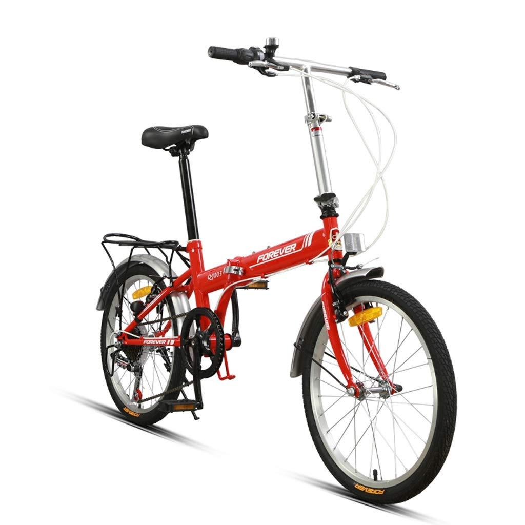 可変速自転車折りたたみ自転車アダルトライトポータブルシフト20