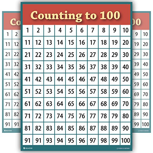 toddler counting chart - 1