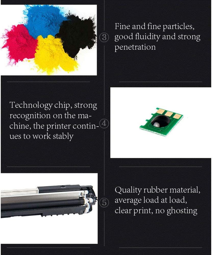 Wonderful Product Just as Good as The HP Brand but at a Better Price-Blue Original Consumables Toner Cartridge for HP CE340A 651A 700 M775dn Replacement Black Toner