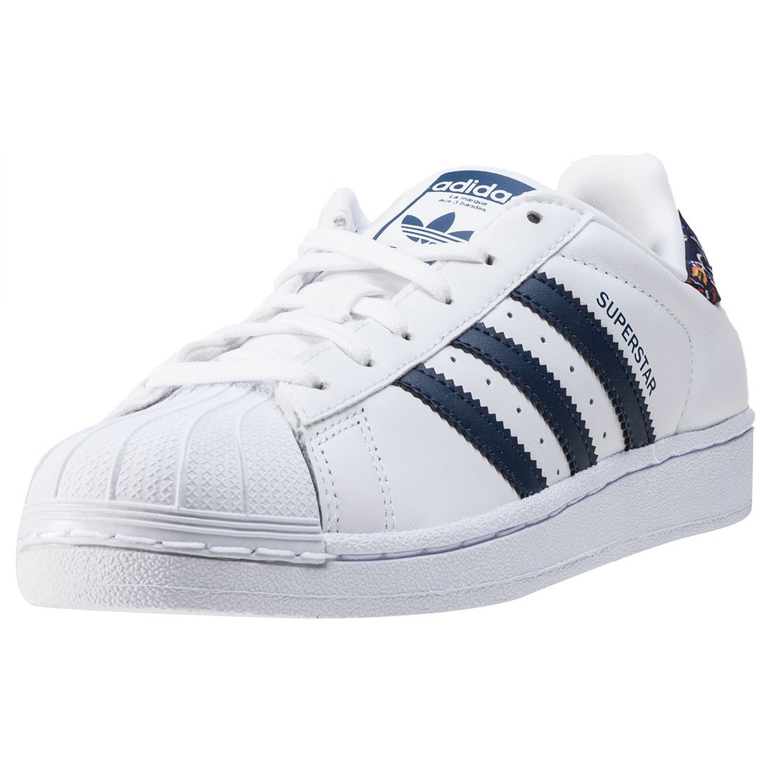 f944609b67 adidas Women s Superstar W FOOTWEAR WHITE STDARS FOOTWEAR WHITE/STDARS 7.5  B(M) US: Amazon.in: Shoes & Handbags