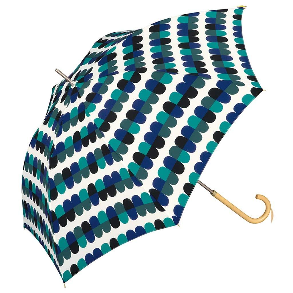 G  Parapluie léger Durable Durable Fleur élégante Fleur Goutte d'eau personnalité Longue poignée ZJING (Couleur   A)