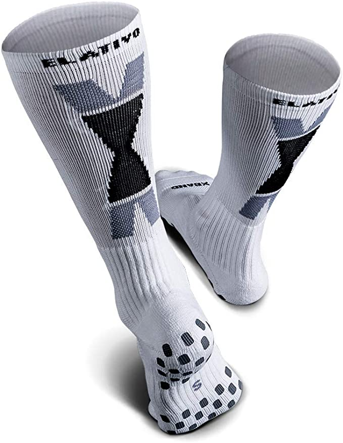 ELATIVO CALCETIN NON-SLIP COMPRESSION CREW SOCKS