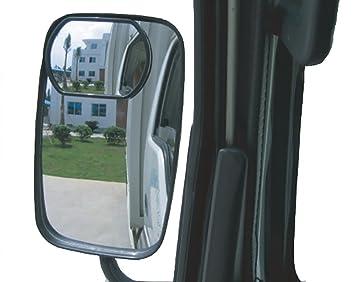 Meipro Espejo Del Punto Ciego Del Camión, Vidrio De Hd Espejo De Espejo Retrovisor De