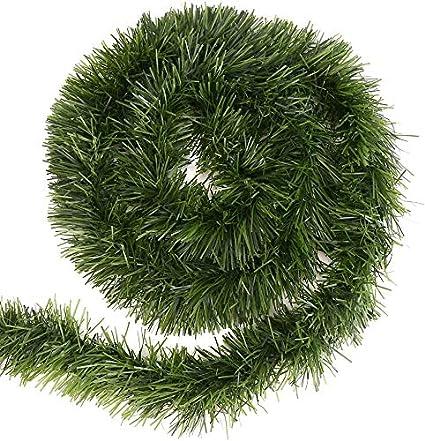 15,5 m LOKIPA Guirnalda de Navidad verde