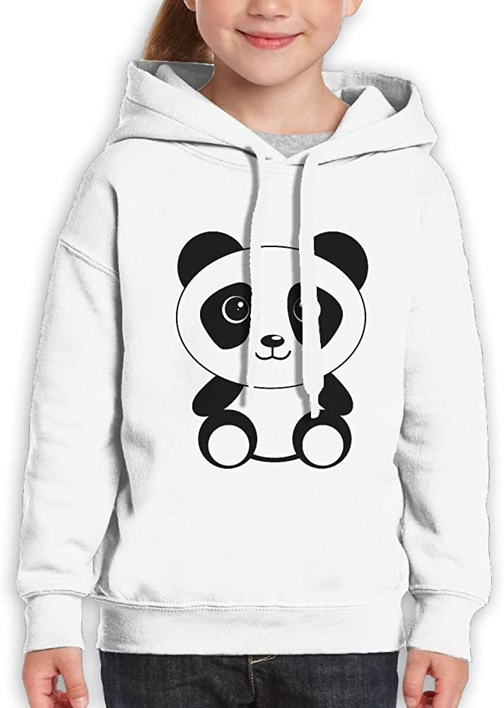 Ydjfgg Fgsf Cute Panda Pullover Long Sleeve Hooded With Sweaters For Girls