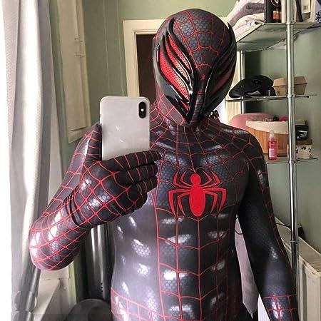 WEGCJU Simbiosis Spider Man Medias Siamesas Impresión 3D Manga ...