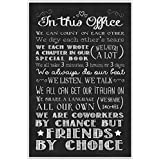 In This Office Wall Art Office Décor Poster