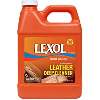 Lexol Leather Deep Cleaner 1-Liter Bottle and Accessories