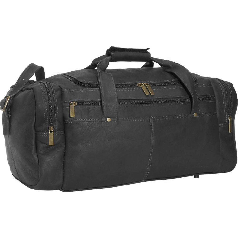 David King Leather Classic Duffel Bag in Black by David King & Co