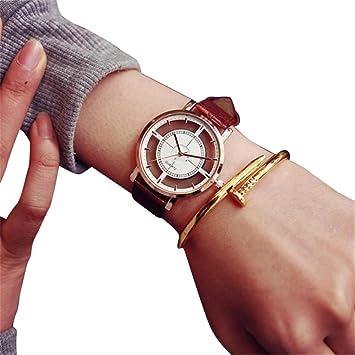 Remoción. relojes Sonnena estudiantes mujeres niñas Fashion unique Hollow reloj analógico reloj cuarzo reloj de