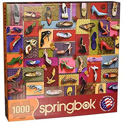 Springbok Shoes Jigsaw Puzzle 1000 Piece By Springbok