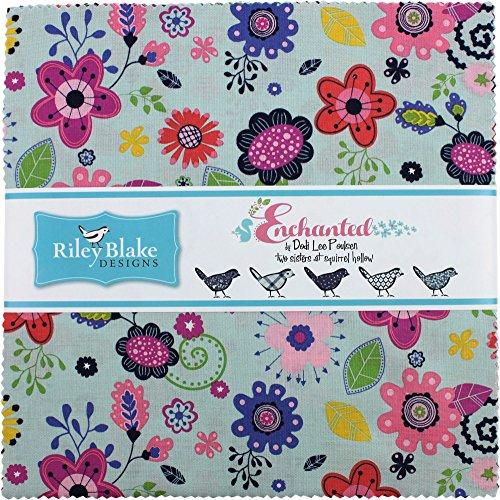 dodi-lee-poulsen-enchanted-10-stacker-42-10-inch-squares-layer-cake-riley-blake-designs-10-5680-42