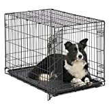 MidWest 1536 iCrate Single-Door Pet Crate 36-By-23-By-25-Inch