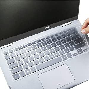 Keyboard Cover for Dell Insprion 14 3442 3446 3447 3451 5447 5448 5458 5491 7447 7472, Dell Inspiron 13-5368 13-7368 13-7378, Dell Insprion 14 3000 5000 Protective Cover Skin-TPU