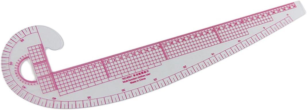 Luwu-Store Regla Curva para Costura, Herramienta de Dibujo, plástico, Regla en Forma de Coma para Sastre: Amazon.es: Hogar