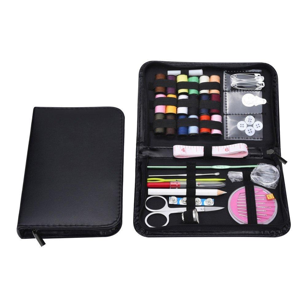 Itian Conjunto de M/últiples Funciones Esenciales Inicio Caja de Costura 38 Piezas de Kit de Herramientas de Costura