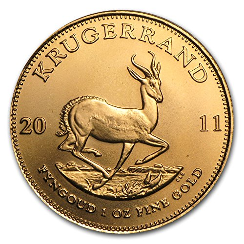 2011 ZA South Africa 1 oz Gold Krugerrand 1 OZ Brilliant Uncirculated ()