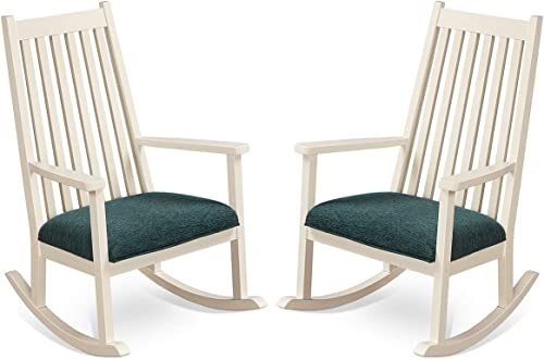 Giantex Rocking Chair W/Seat Cushion Outdoor Indoor Porch Rocker