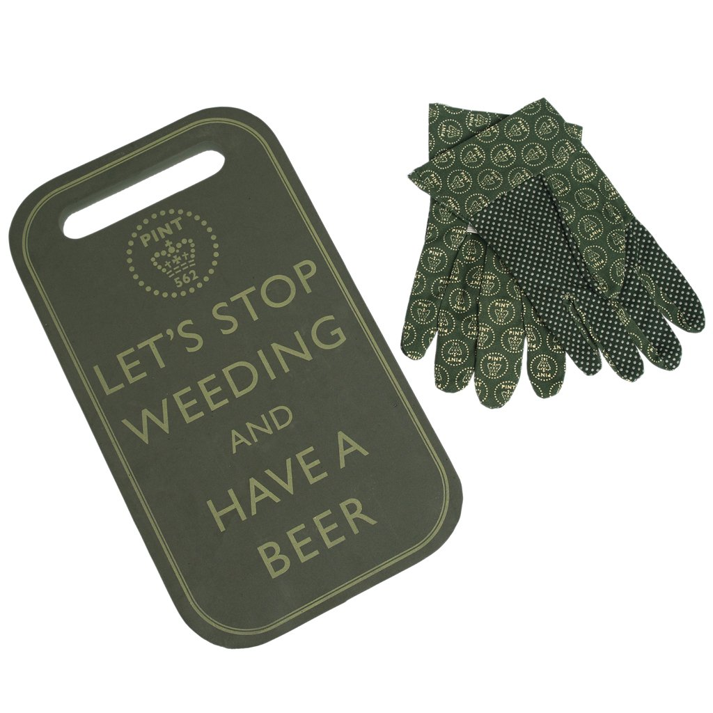 Have A Beer Kneeling Pad and Gloves Rex International Ltd
