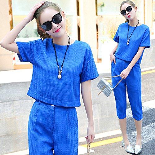 KTK  Sommer-Koreanisch Größe sieben Hosen Anzug