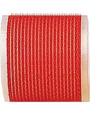 Fripac-Medis Le Coiffeur - Rulos (6 unidades, diámetro de 68 mm), color rojo