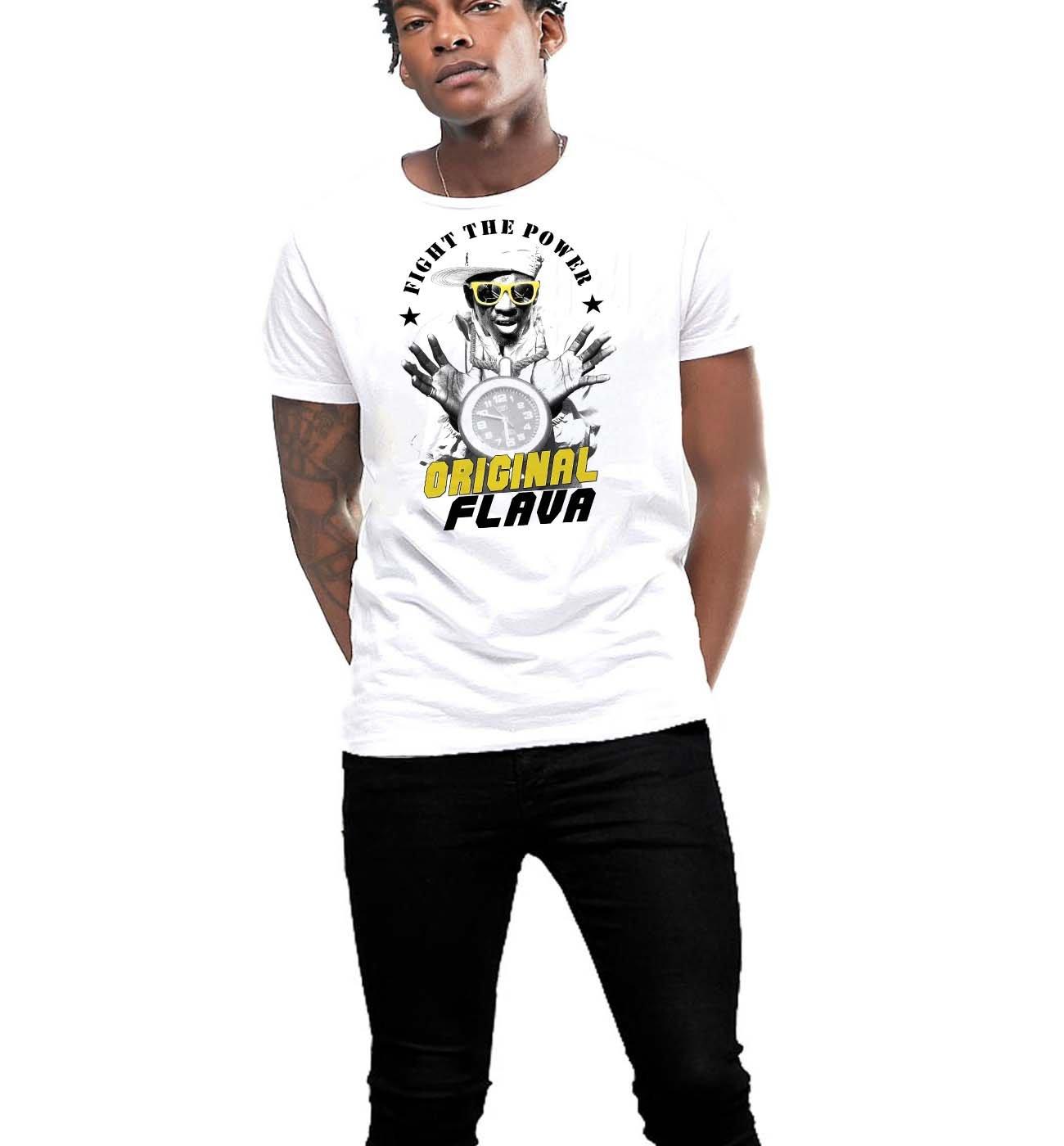 Hip Hop T Shirt Old School 80s Rap Music The Hype Man 8989