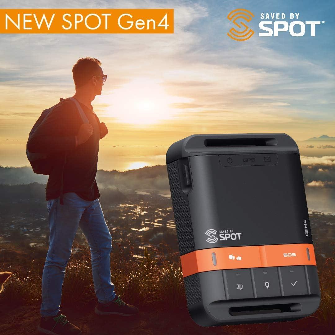 Nexus Wireless Spot Gen4 Two-Way Satellite GPS Location Tracker Portable Communicator
