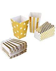 Popcorn Boxes Cardboard Candy Party Favor Boxes Container,Open-Top Paper Popcorn Boxes for Birthday, Bridal Baby Shower,Carnival/Movie/Fiesta,Dessert Tables Wedding Party Supplies,36pcs