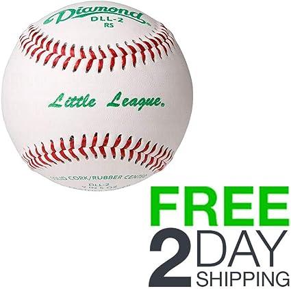 Diamond DLL-2 Little League Leather Baseballs 12 Ball Pack