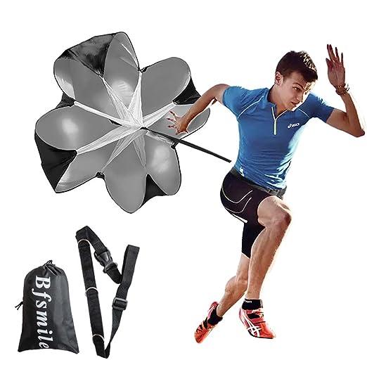 Amazon.com: Bfsmile Running Speed Training - Paracaídas con ...