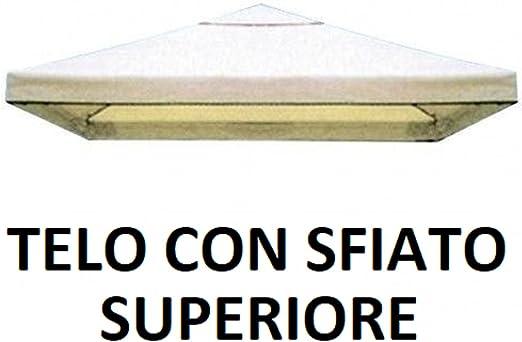 Megashopitalia Copertura Telo Di Ricambio Per Gazebo 3x3 Mt Top