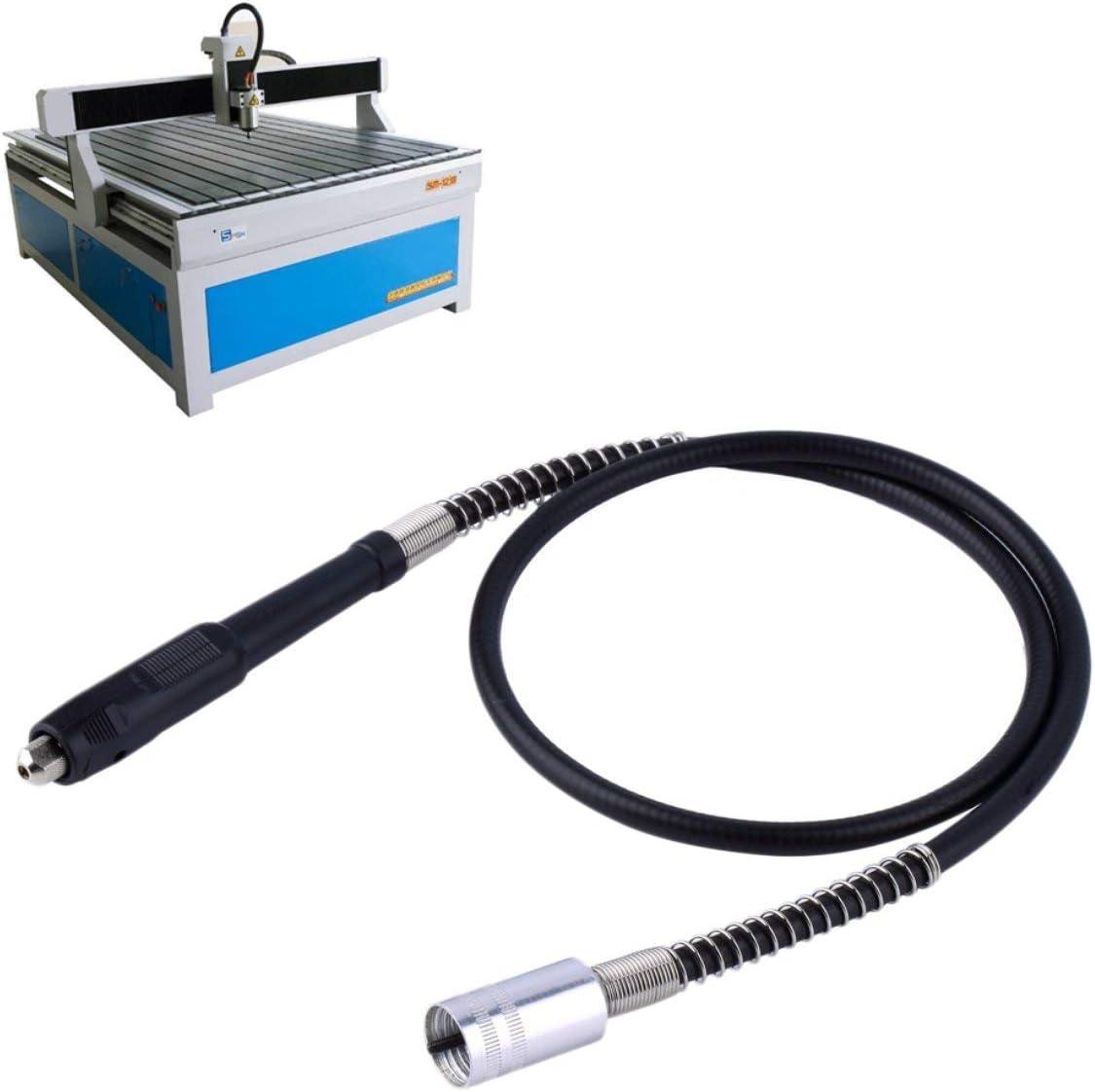 Outil de meuleuse /électrique pour tige de rallonge flexible pour accessoires de Dremel noir