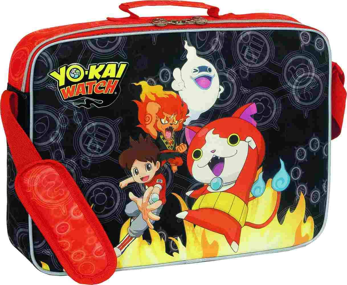 Sportandem Yo Kai Watch Fire Mochila Tipo Casual, 38 cm, Multicolor: Amazon.es: Equipaje