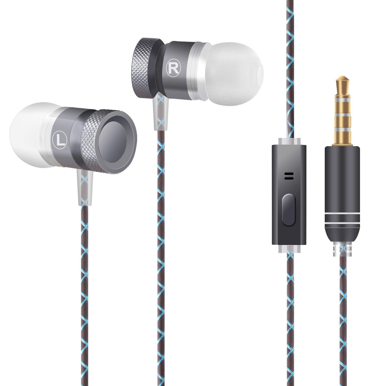 54d8d019616 CHOETECH Audífonos Samsung Auriculares Estéreo de Metal con Micrófono de  Audífonos con cancelación de Ruido para