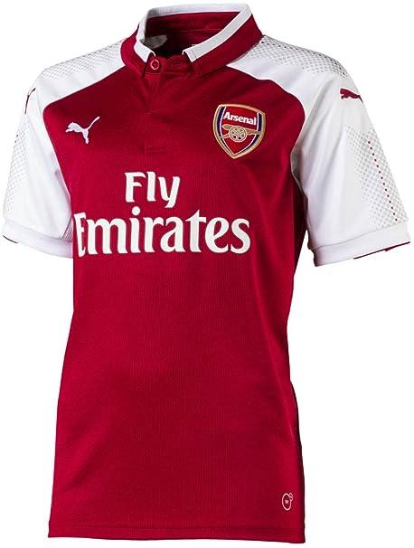 6c8389f6 English Premiership Arsenal Unisex PUMA Licensed ApparelLicenced Soccer  Apparel, Chili Pepper-Puma White,