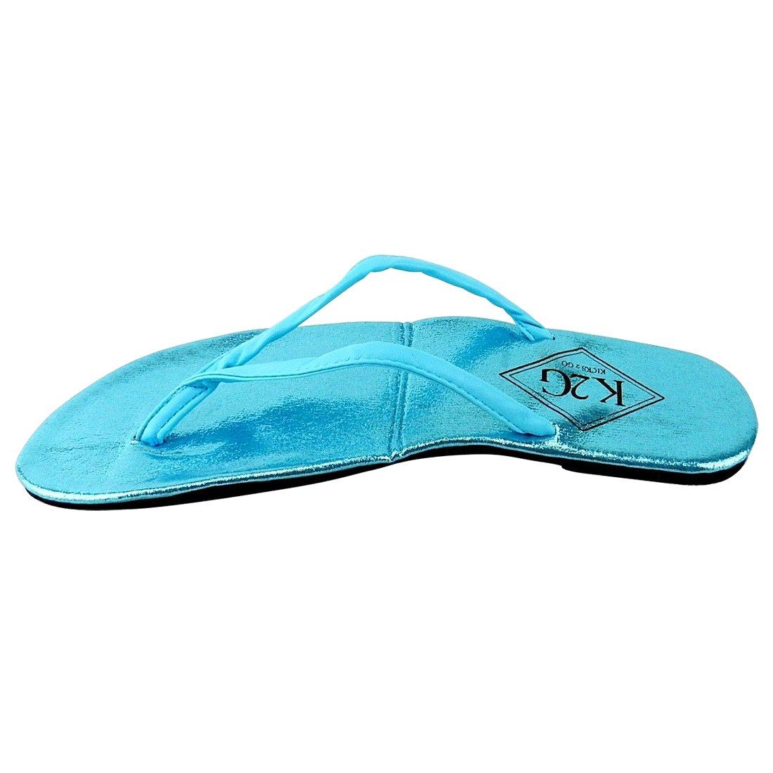 c1f4416b58e7 Amazon.com  Ladies  Folding Flip-Flops with Pouch - Spa
