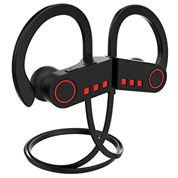 JETech Bluetooth 4.1 Auriculares Inalámbricos Deportivos con Sonido Estéreo, Construido Mic, Reducción de Ruido CVC 6.0: Amazon.es: Electrónica