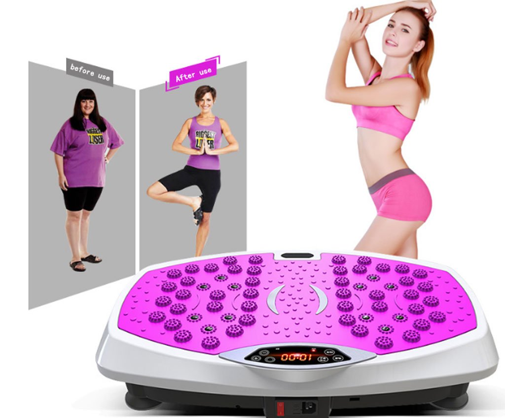 Plataforma Vibratoria Vibrapower Active Exercising Machine: Amazon ...