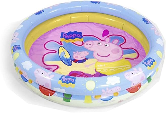 Peppa Pig - Piscina Hinchable, 90 cm (Saica Toys 9113): Amazon.es ...