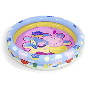 Peppa Pig inflatable swimming pool, 90cm (Saica Toys 9113)