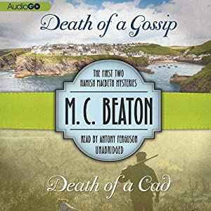 Death of a Gossip & Death of a Cad Audiobook