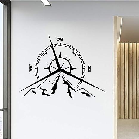 ganlanshu Calcomanías Creativas de la Rueda de la Fortuna para la habitación del bebé calcomanías de póster Mural de Vinilo extraíble calcomanías Creativas 45 cm x 61 cm: Amazon.es: Hogar