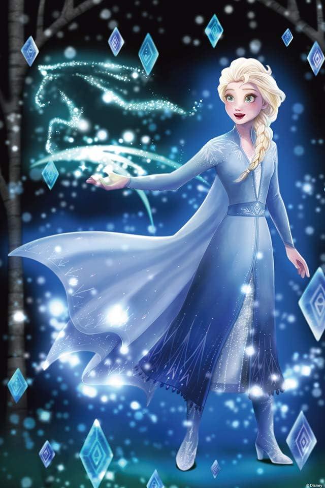 ディズニー アナと雪の女王2 (エルサ) iPhone(640×960)壁紙画像