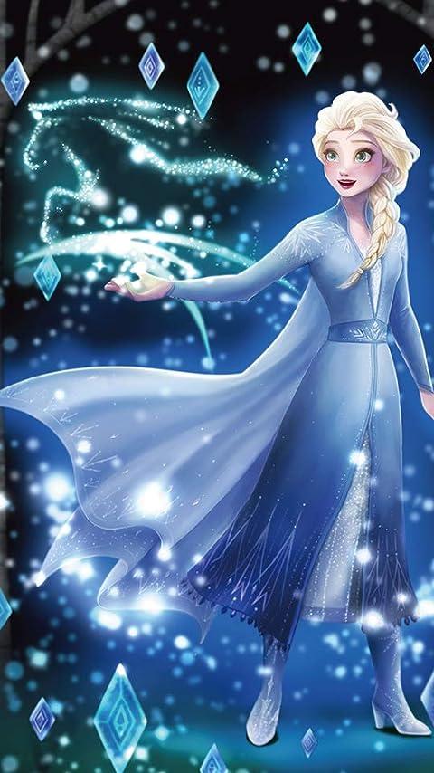 ディズニー アナと雪の女王2 (エルサ) XFVGA(480×854)壁紙画像